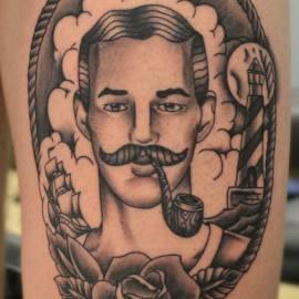 3e Prijs Tattoo conventie Brusssel