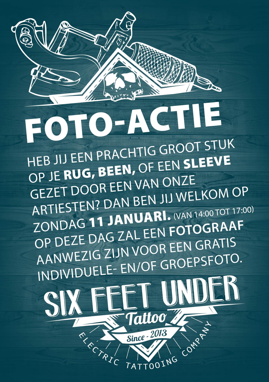 Foto-actie bij Six Feet Under