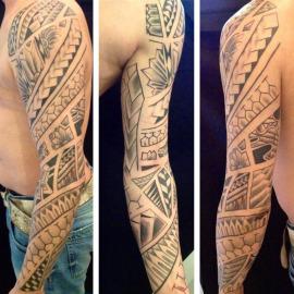 Maori/polynesian styles – Jan Sidiropoulos